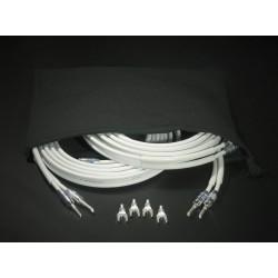 Atohm ZEF Max Set 2 x 3 mètres : paire de câbles Zef Max montés