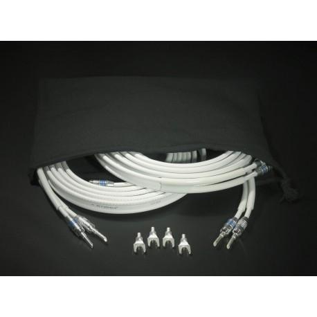Atohm ZEF Max Set 2 x 3 mètres : paire de câbles Zef Max montée