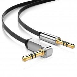 Ugreen câble coudé stéréo jack 3,5mm mâle vers jack 3,5mm mâle